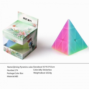 QiYi MoFangGe QiMing Pyraminx Jelly
